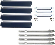 Charbroil 4 Gas Grill Replacement Parts Kit Commercial Burner Steel Heat Plate