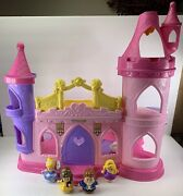 Fisher-price Little People Disney Princess Musical Dancing Castle Palace Figures