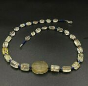 Old Bead Ancient Crystals Quartz Bead Egyptian Amulet Scarab 2000 Bc Old Jewelry