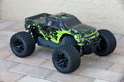 Custom Body Green Muddy Splash For Arrma Granite 4x4 2wd 3s Blx 1/10 Cover Shell