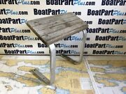 Teak Foot Rest From A 42and039 Formula Boat