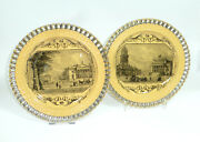 Two Rare Plate 18 Jh The Royal Theater In Berlin Opera House Top