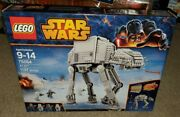 Lego Star Wars 75054 At-at Building Rare Retired New Sealed Hot Set Mini Figure