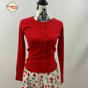 Hell Bunny Debbie Soft Touch Cardigan Retro Rockabilly Vintage Pinup 40s 60s 50s