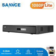 Sannce 4ch 1080p Hdmi 5in1 Cctv Dvr Home Security System Surveillance Motion