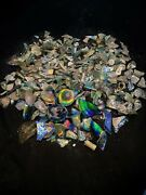 Old Ancient Roman Glass Bottles Fragments 1st C. Ad Antiquities Jewelry Pendant