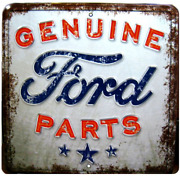 Genuine Ford Parts Signs Vintage Style Embossed Metal Man Cave Garage Home Decor