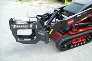 Ditch Witch Mini Loader Tree-shrub Grapple By Bradco,fits Most Mini Loaders, New