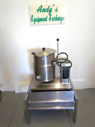 Welbilt/ Cleveland Tilting Kettle 5 Gal Ket-5t With Lid And Stand 480v