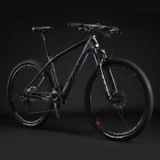Carbon Frame Mountain Bikeblack/red Availabile Fast Shipping