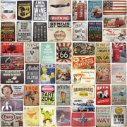Man Cave Metal Tin Signs Vintage Funny Poster Coffee Garage Retro Wall Plaque