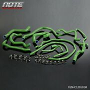 Green Silicone Radiator Coolant Hose And Clamps Kit For 00+ Ford Focus 1.8l 2.0l