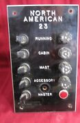 Fused Boat Electrical Panel Yacht Sail Power Fish Lights Cabin Running Mast
