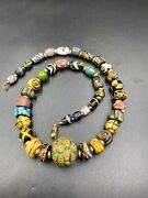 Antique Ancient Roman Glass Beads From Central Asian Countries Gabri Beads
