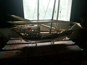 1963 Handmade Wooden Fishing Boat From Bahrain. 3.5ft Ex Cond. One Owner.