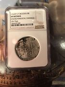 1763 Bolivia 8 Reales ,ngc Vf Details, 26.76 Grams, Nicely Toned.