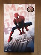 Hot Toys Mms 244 The Amazing Spiderman Spider-man 2 Figure Special Version Use