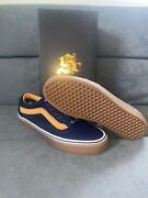 Sole Classics Lucky 13 Old Skool Lx Navy Size 11 Vault Limited Edition