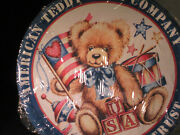 American Teddy Bear Company-in Bears We Trust- Brand New Tin Sign Discontinued