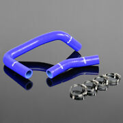 Silicone Radiator Hose Clamps Fit For Toyota Corolla Ae86 4age 1983-1987
