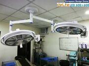 New Euro Design Surgical Lights Led Ot Light Operation Theater Lamp Double Satel
