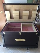 Large Tack Trunk Tack Box Made With Sliding Tray Tote And Aromatic Cedar