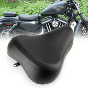 Leather Solo Seat Cushion Front Driver For Harley Sportster Xl1200 883 72 48 Btb
