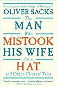The Man Who Mistook His Wife For A Hat Paperback Oliver Sacks Psychologist