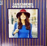 Carly Simon Greatest Hits Rare 1970and039s Japanese Record Club Only Lp