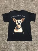 Vintage Taco Bell Beverly Hills Chihuahua Box Trap Size Large Shirt