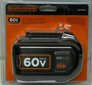 Black And Decker Lbx2560 60 Volt Max 2.5 Ah Lithium-ion Rechargeable Battery Pack
