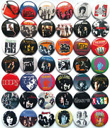 The Doors Jim Morrison Button Badges Pins Riders On The Storm La Woman Lot Of 42