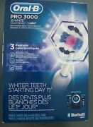 Oral-b Pro 3000 3d White Smart Series Bluetooth Brand New In Box