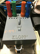 Klopp Et Everything Machine Electric Coin Counter W 4 Tubes