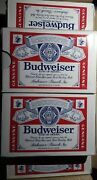 17x Lot - Rare Vintage Budweiser Playing Card Decks Sealed Free Shipping And Insrn
