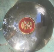 One 1937- 1940 Cadillac Lasalle Hubcap Choice Of Centers Maybe 33 343536