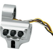 Performance Machine Chrome Contour 4-button Switch Housing For Hd 96-98 Touring