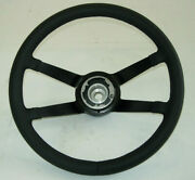 Leather Steering Wheel 380 Mm. New Fits Porsche 911 912 And 914.rs 30mm Deeper