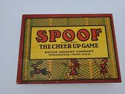 Spoof The Cheer Up Card Game 1918 Set From Milton Bradley Complete In Box