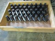 Cat50 Tool Holders Collet Chucks, Endmill, Facemill Holders, Etc Qty 50