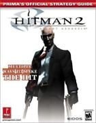 Official Strategy Guides Hitman 2 By Michael Knight And Prima Publishing Staff