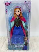 Nrfb Disney Store Frozen Anna 12 Classic Doll 1st Edition
