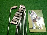 Very Rare Ben Crenshaw Personal Irons And Putter And Glove