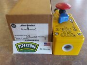 440e-l13155 Allen Bradley Emergency Stop, Safety Cable Pull Switch Nib