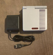 Nintendo Nes Classic Edition Gameboy Advance Gba Sp W Charger Excellent Lqqk