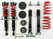 Rs-r Black-i Extreme Lowering Coilovers For 07-15 Infiniti G35 G37 Sedan Rwd