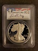 2012-s 1 Proof Silver Eagle Pcgs Pr70 Coin And Currency Set Fs Edmund Moy Rare