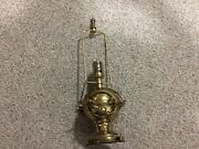 Vintage Mutual Sunset Lamp Company Mslc Table Brass Nautical 3932