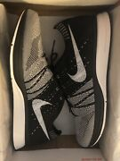 Nike Flyknit Trainer Black White Ds Size 12 2012