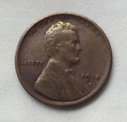 1914-d Lincoln Wheat Cent - Highly Sought After Super Key Date 10572